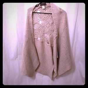 FreePeople Cape Sweater Free People Poncho/Cape